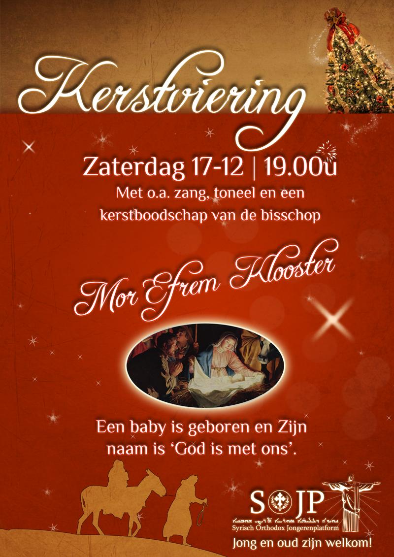 Uitnodiging kerstviering 2011