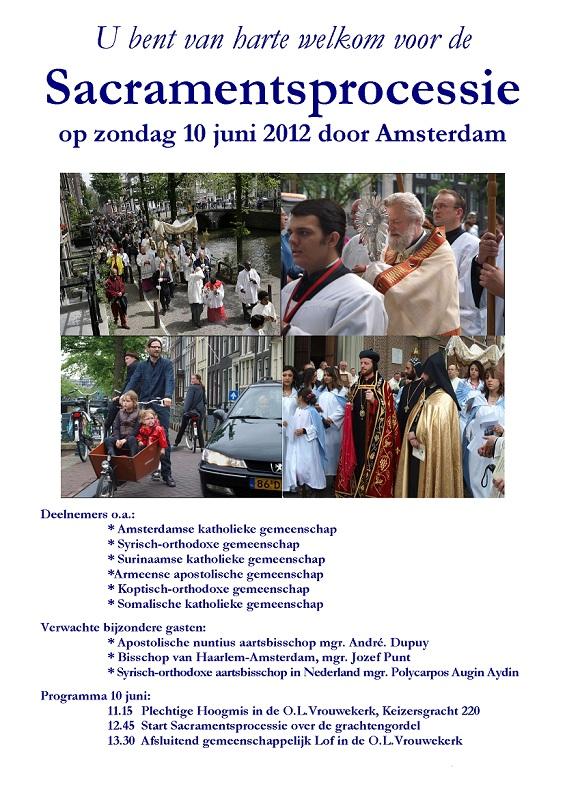 Sacramentsprocessie 2012
